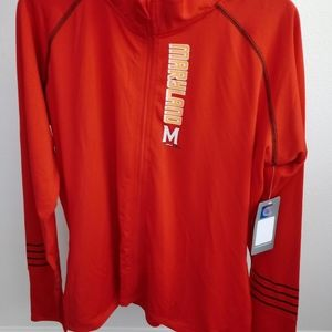 MARYLAND TERPS ZIP UP JACKET